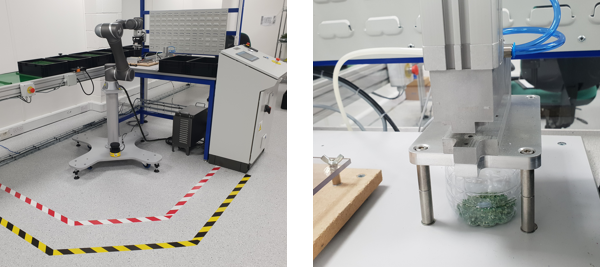 Hanover Displays – Cobot PCB testing unit