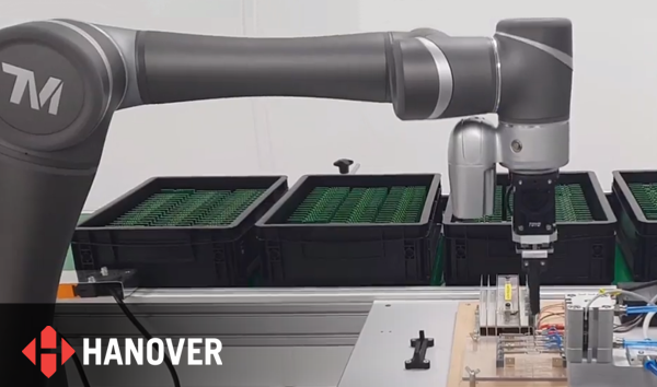 Hanover Displays – Cobot PCB testing